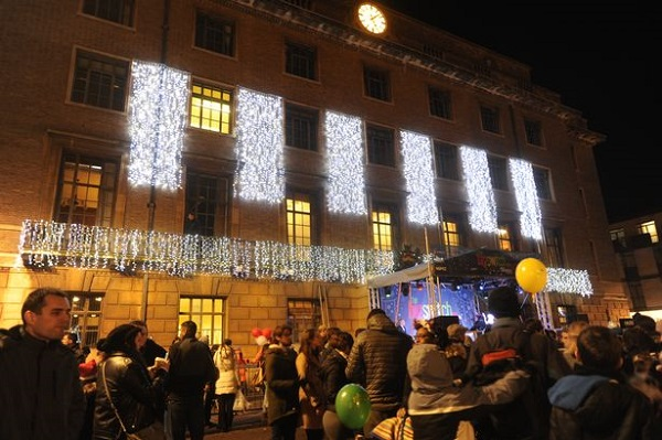 Cambridge christmas lights