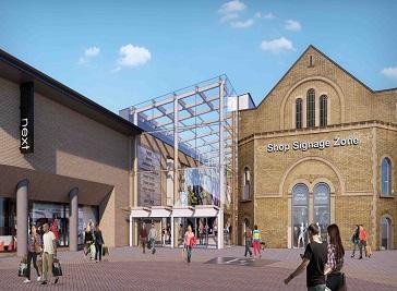Grafton Centre in Cambridge