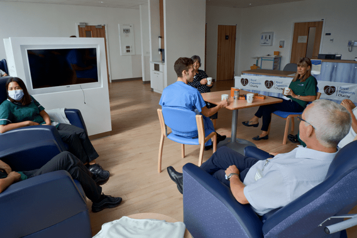 Rest-and-Recharge-Lounge-for-Royal-Papworth-Hospital-staff Insidecambs